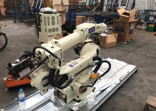 Robot Welding OTC FD-B6L สร้างความพอใจให้กับลูกค้าอีกครั้ง
