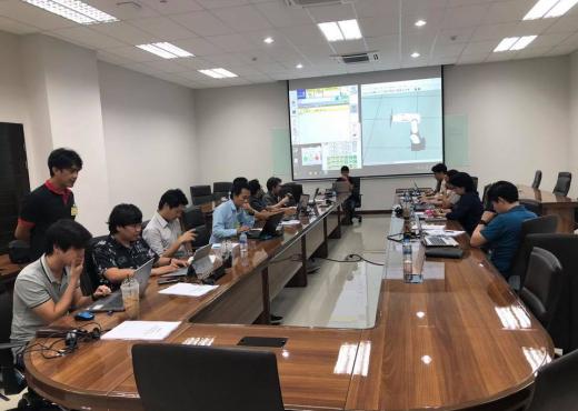 การอบรม Robot Programing ในหัวข้อ Robot Training Program NACHI